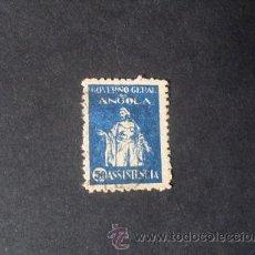Sellos: ANGOLA,COLONIA PORTUGUESA,1929,ASISTENCIA,GOBIERNO GENERAL DE ANGOLA,AFINSA 4,SCOTT RA4,USADO. Lote 54853511