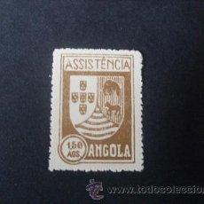 Sellos: ANGOLA PORTUGUESA,1939,IMPUESTO POSTAL,ASISTENCIA,ESCUDO ARMAS,NO RECOGIDO CATALOGO,EMITIDO SIN GOMA. Lote 54854062