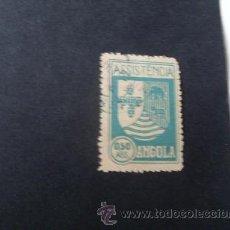 Sellos: ANGOLA,COLONIA PORTUGUESA,1939,ASISTENCIA,ESCUDO ARMAS,AFINSA 5,SCOTT RA5,USADO. Lote 54854203