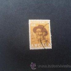 Sellos: ANGOLA,COLONIA PORTUGUESA,1955,ASISTENCIA, COLONO,AFINSA 7,SCOTT RA7,USADO. Lote 54854600