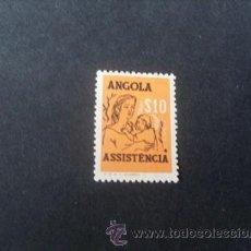 Sellos: ANGOLA PORTUGUESA,1958,ASISTENCIA,MADRE E HIJO,AFINSA 12*,SCOTT RA14*,NUEVO,GOMA,SEÑAL FIJASELLOS. Lote 54854936