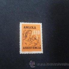 Sellos: ANGOLA PORTUGUESA,1958,ASISTENCIA,MADRE E HIJO,AFINSA 12*,SCOTT RA14*,NUEVO,GOMA,SEÑAL FIJASELLOS. Lote 54855106