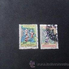 Sellos: ANGOLA PORTUGUESA,1965,ASISTENCIA,MAPA ANGOLA,AFINSA 18-19 ,SCOTT RA22-RA23,COMPLETA,USADOS. Lote 54855471