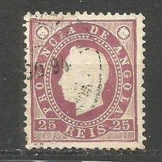 Sellos: ANGOLA COLONIA PORTUGUESA YVERT NUM. 18 USADO. Lote 65883338