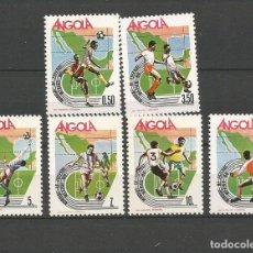 Sellos: ANGOLA YVERT NUM. 716/721 ** SERIE COMPLETA SIN FIJASELLOS . Lote 68152869