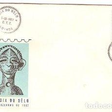 Sellos: ANGOLA & FDC ULTRAMAR, CLUBE FILATÉLICO DE ANGOLA, XIII DIA DO SELO, LUANDA 1967(421). Lote 88322912