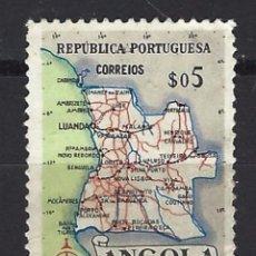 Sellos: ANGOLA - SELLO NUEVO CON CHARNELA. Lote 91059120