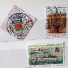 Sellos: ANGOLA 2 SELLOS DE ANGOLA PORTUGUESA . Lote 94250840
