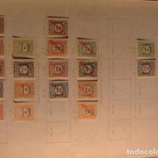 Sellos: ANGOLA 1904 - 1921 TIMBRES TAXE YVERT Nº 1/2 + 11/ 18 + 21 / 29 * MH. Lote 98087123