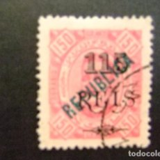 Sellos: ANGOLA 1914 CARLOS 1 º AVEC REPUBLICA YVERT N 170 FU. Lote 98146915