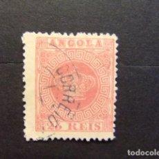 Sellos: ANGOLA 1870 CORONA YVERT N 4 FU. Lote 98707375