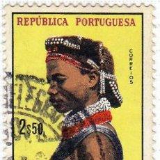 Sellos: 1961 - ANGOLA - MUJERES DE ANGOLA - YVERT 427 . Lote 105892995
