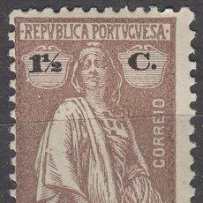 Sellos: ANGOLA Nº 145, CERES (1914 -1924), NUEVO CON CHARNELA. Lote 122706195