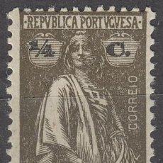 Sellos: ANGOLA Nº 142, CERES (1914 -1924), NUEVO CON SEÑAL DE CHARNELA. Lote 122706399