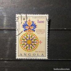 Sellos: SELLO USADO ANGOLA. V CENTº NACIMIENTO DE VASCO DE GAMA. 29 DE AGOSTO DE 1969. YT:AO 557, . Lote 128207859