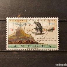 Sellos: SELLO USADO ANGOLA. L ANIVº PRIMER VUELO ENTRE LISBOA Y RIO DE JANEIRO.20 SEPTIEMBRE 1972. YT:AO 579. Lote 128471395