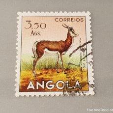 Sellos: SELLO USADO ANGOLA. GACELA SALTARINA DE EL CABO 15 AGOSTO 1953. YT:AO 369. Lote 128473515