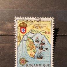 Sellos: SELLO USADO MOZAMBIQUE. 400 ANIVº VISIYA MOZAMBIQUE DE CAMOENS. 10 JUNIO 1969. YT:MZ 546. Lote 128617755