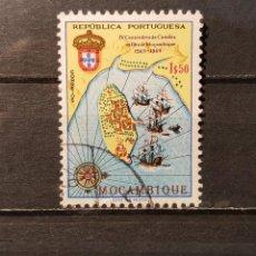 Sellos: SELLO USADO MOZAMBIQUE. 400 ANIVº VISIYA MOZAMBIQUE DE CAMOENS. 10 JUNIO 1969. YT:MZ 546. Lote 128617851