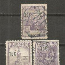 Sellos: ANGOLA COLONIA PORTUGUESA YVERT NUM. 226/228 SERIE COMPLETA USADA. Lote 139231998