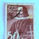 Sellos: SELLO POSTAL ANGOLA, 1948 ,50 CENTAVOS, TRICENTENARIO DE RESTAURACION DE ANGOLA A PORTUGAL. Lote 149878614