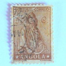 Sellos: SELLO POSTAL ANGOLA, 1932, 50 CENTAVOS, CERES , USADO. Lote 149881614
