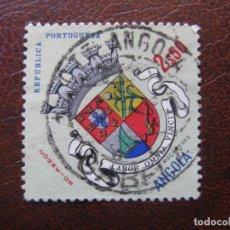 Sellos: ANGOLA, 1963 YVERT 454. Lote 163354134