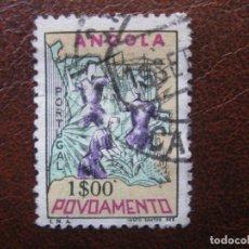 Sellos: ANGOLA, 1965 SOBRETASA A FAVOR DE LOS POBRES, YVERT 516 . Lote 163354890