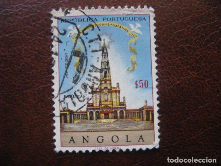 ANGOLA, 1967 50 ANIV.APARICIONES DE FATIMA, YVERT 538 (Sellos - Extranjero - África - Angola)