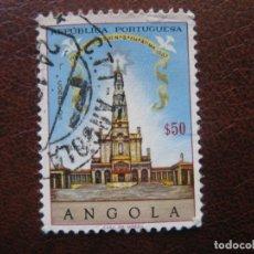 Sellos: ANGOLA, 1967 50 ANIV.APARICIONES DE FATIMA, YVERT 538. Lote 163355306