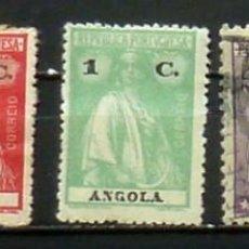 Sellos: SELLOS ANGOLA -(COL.PORTUGUESA) FOTO 813 - USADO. Lote 164800666