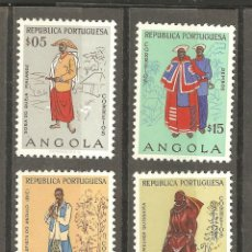 Sellos: ANGOLA,REPUBLICA PORTUGUESA,4 VALORES, NUEVOS, FIJASELLOS, G.ORIGINAL.. Lote 166886184