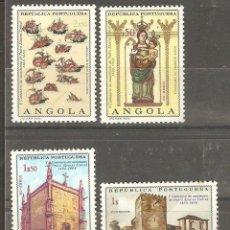 Sellos: ANGOLA, 1968,CAT. YT. 542,553,552 Y 554, NUEVOS, GOMA ORIGINAL, SIN FIJASELLOS.. Lote 166886860