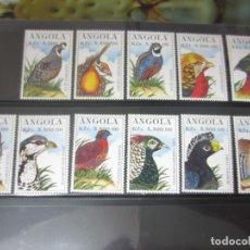 Sellos: ANGOLA - 12 V. NUEVO. Lote 176464945