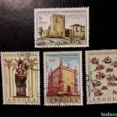 Sellos: ANGOLA. YVERT 534/5 SERIE COMPLETA USADA. 5 ° CENTENARIO DE PEDRO ALVARES CABRAL.. Lote 176934965