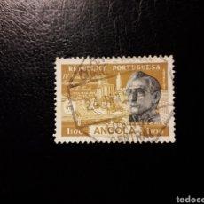 Sellos: ANGOLA. YVERT 380. SERIE COMPLETA USADA. 4 ° CENTENARIO DE SAO PAULO.. Lote 176940902