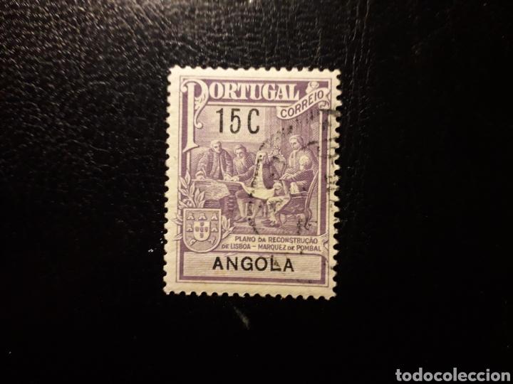 ANGOLA. YVERT 227 SELLO SUELTO USADO. MARQUÉS DE POMBAL (Sellos - Extranjero - África - Angola)