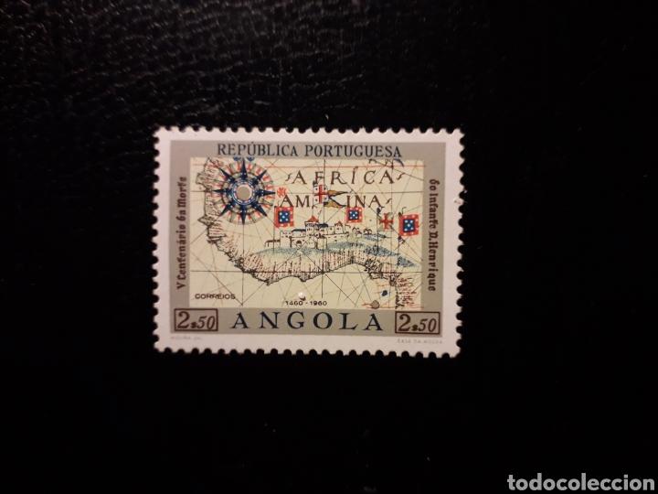 ANGOLA. YVERT 417. SERIE COMPLETA NUEVA SIN CHARNELA. INFANTE DON ENRIQUE. MAPAS (Sellos - Extranjero - África - Angola)