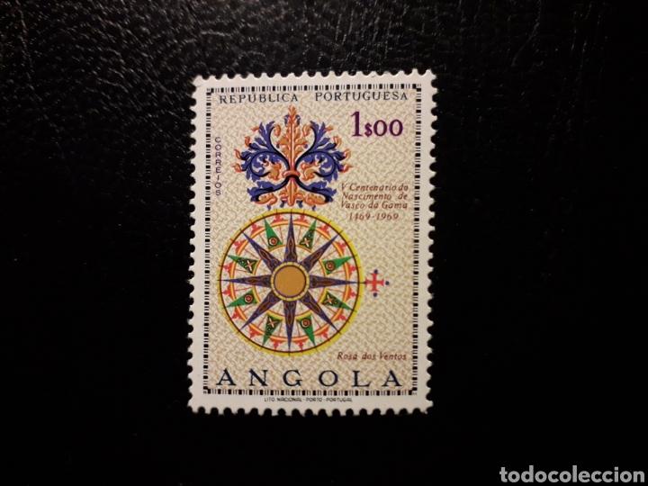 ANGOLA. YVERT 557 SERIE COMPLETA NUEVA SIN CHARNELA. VASCO DE GAMA. ROSA DE LOS VIENTOS (Sellos - Extranjero - África - Angola)
