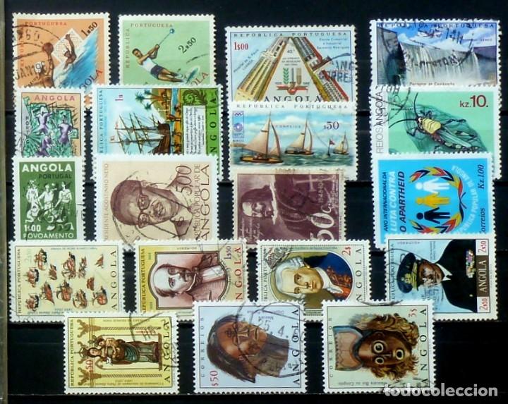 SELLOS ANGOLA- FOTO 814 - SELLOS USADOS (Sellos - Extranjero - África - Angola)
