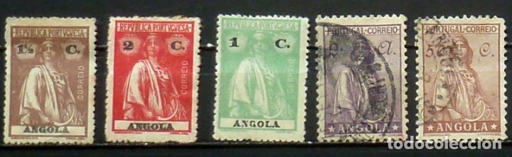 SELLOS ANGOLA - FOTO 813 - SELLOS USADOS (Sellos - Extranjero - África - Angola)