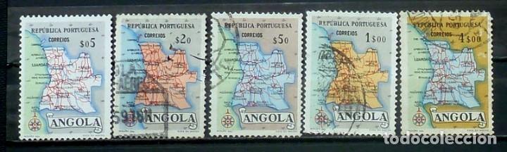 SELLOS ANGOLA - FOTO 805 - Nº 381 IVERT,L USADOS (Sellos - Extranjero - África - Angola)
