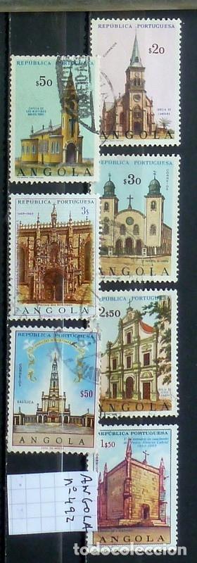 SELLOS ANGOLA - FOTO 801 - Nº 492 IVER, AEREO, USADO (Sellos - Extranjero - África - Angola)