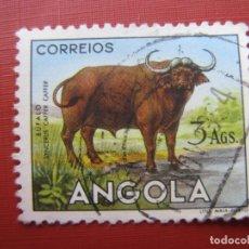 Sellos: ANGOLA 1953, BUFALO,YVERT 368. Lote 177268483