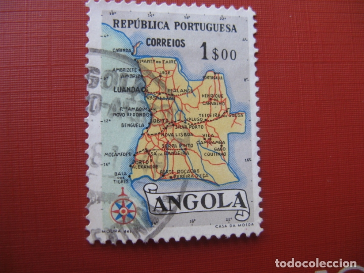 ANGOLA 1955, YVERT 384 (Sellos - Extranjero - África - Angola)