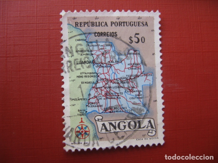 ANGOLA 1955, YVERT 383 (Sellos - Extranjero - África - Angola)