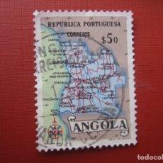 Sellos: ANGOLA 1955, YVERT 383. Lote 177269200