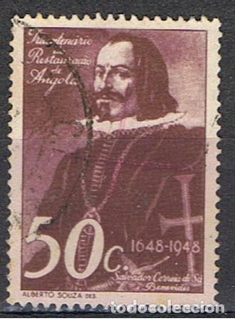 SELLO DE ANGOLA // YVERT 302 // 1948 (Sellos - Extranjero - África - Angola)