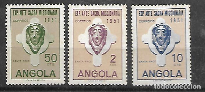 SERIE DE ANGOLA Nº 354/56 DOS VALORES NUEVOS EL TERCERO SIN GOMA (Sellos - Extranjero - África - Angola)