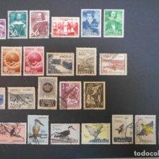 Sellos: ANGOLA-COLONIA PORTUGUESA-25 SELLOS ANTIGUOS Y DIFERENTES-LOTE 2. Lote 186223058